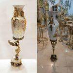 گلدان چینی پایه فرشته