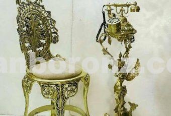 تلفن شاه فرشته به همراه صندلی تکی