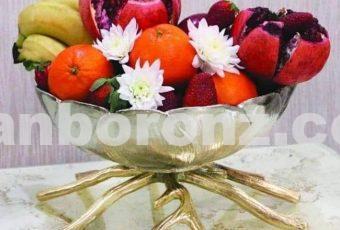 میوه خوری رومیزی مدل نسترن